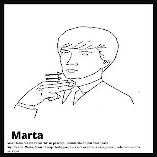 Sina de Marta da bíblia