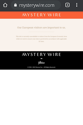 This is a screenshot of the Mystery Wire EU law.