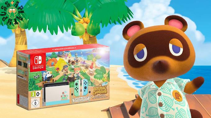 Sorteio Nintendo Switch Edição Animal Crossing