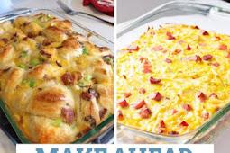 10 Amazing Make Ahead Breakfast Casseroles You'll Wish You'd Tried Sooner
