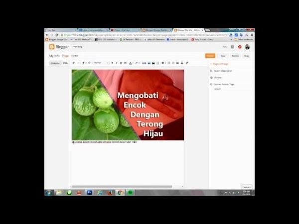 Contoh Embed Video, Button, Spoiler, Tabel, Dan Image Di Dalam Postingan