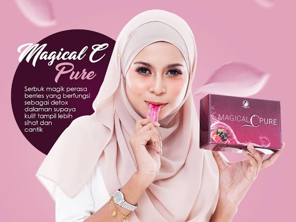 MCP Magical C Pure 100% Vitamin C Angsa Emas Beaute