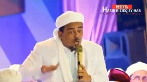 Video HRS Ceramah Soal Nikmat Mati Syahid Beredar: Bisa Bawa 70 Orang Masuk Surga!