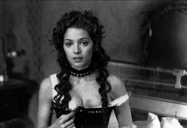Mili Avital as prostitute Thel Russell in Dead Man, town of Machine, Directed by Jim Jarmusch