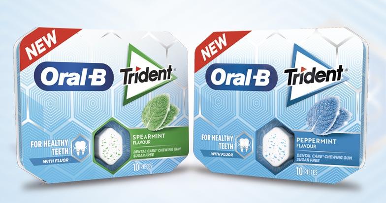 Ação conjunta dentre Trident e Oral-B