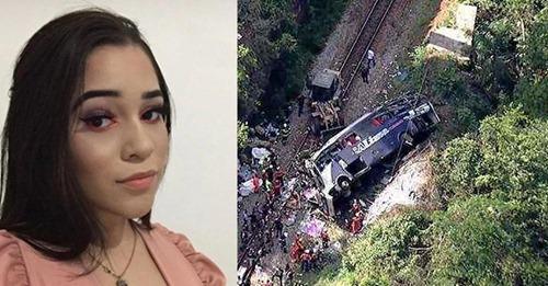 """Sobrevivente de queda de ônibus em MG agradeceu mãe por áudio: """"Você orou por mim"""""""