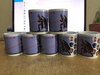 Bikin Mug Murah - 7 pcs Mug Digital - Hadiah Ulang Tahun Murah