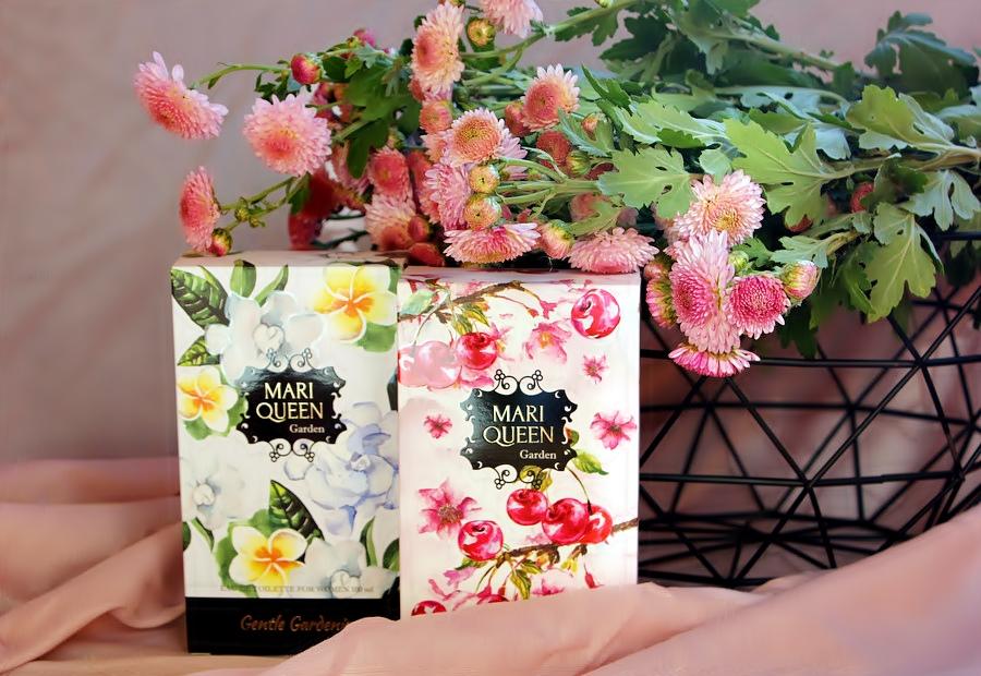 Линия магазинов EVA представляет: Туалетная вода Mari Queen Garden Sweet Cherry & Gentle Gardenia / обзор, отзывы