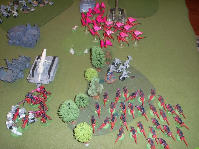warhammer 40k tyranid ork battle report