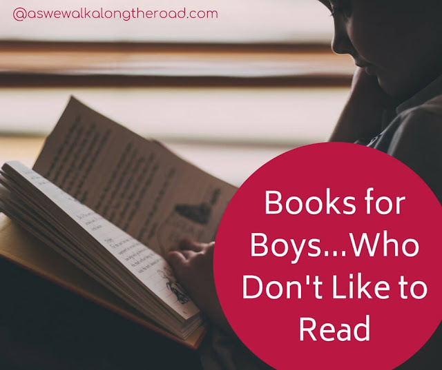Books for boys who don't like to read