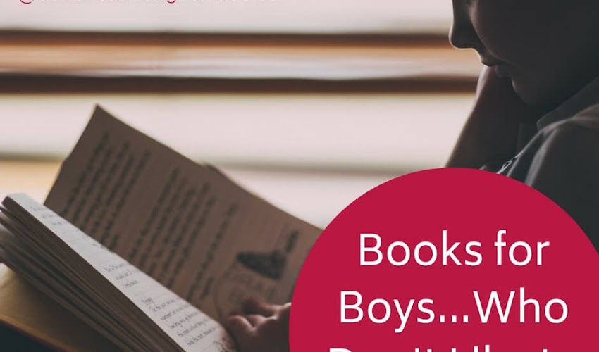 Books For Boys...Who Don't Like to Read