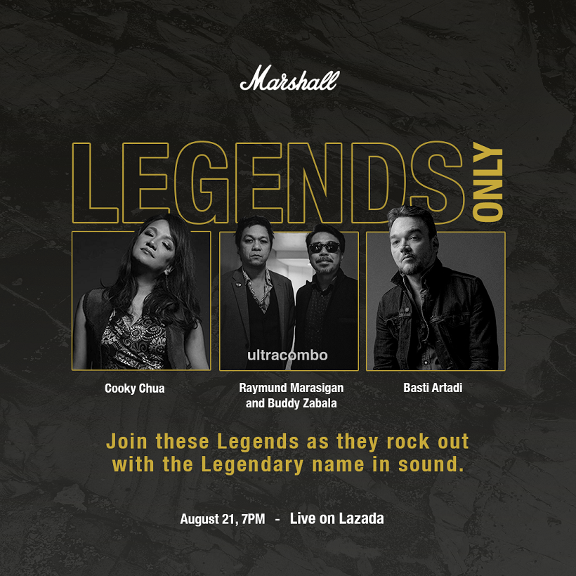 Marshall's First and Biggest Online Rock Concert this August 21!