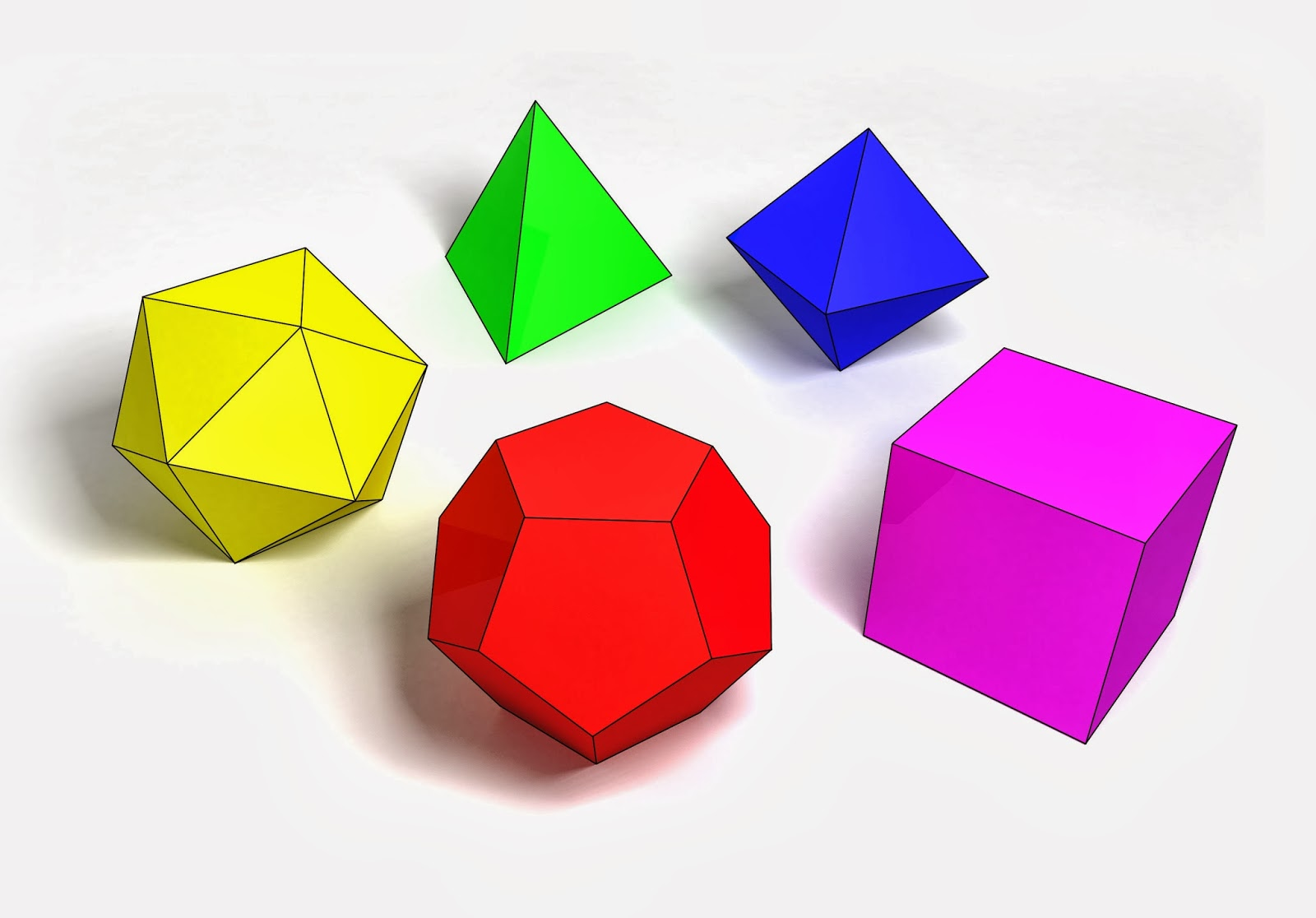Median Don Steward Mathematics Teaching Platonic Solids