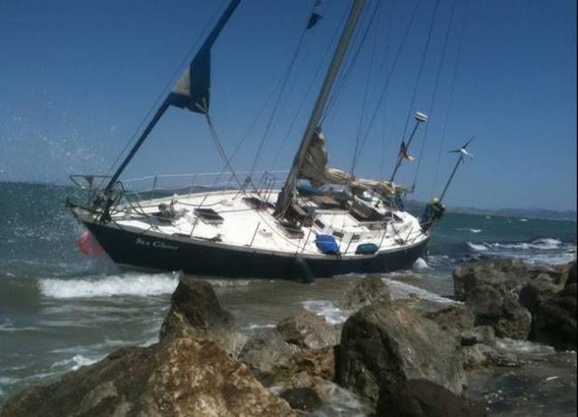 Θεσπρωτία: Προσάραξη ιστιοφόρου σκάφους στα Σύβοτα