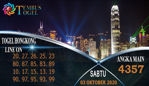 Angka Shio Togel Hongkong Hari Sabtu 03 Oktober 2020