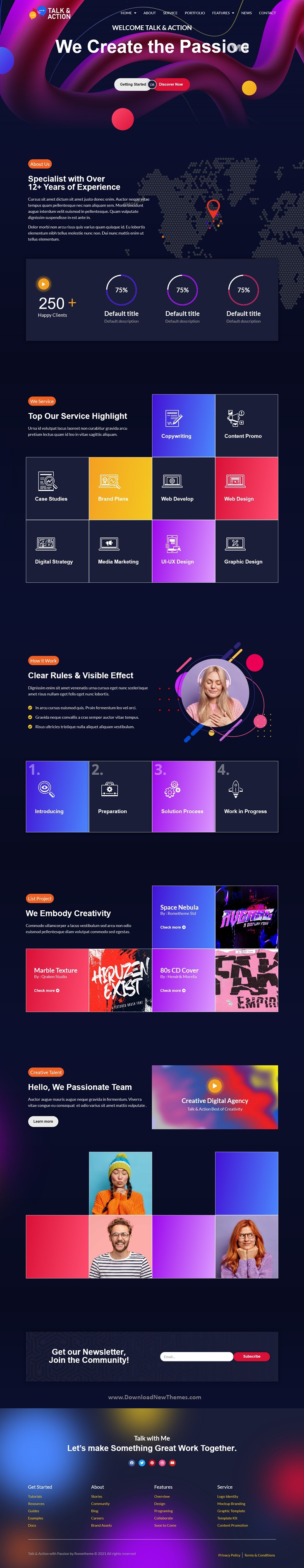 Digital Agency Elementor Template Kit