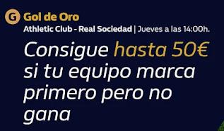 william hill Gol de Oro Athletic vs Real Sociedad 31-12-2020