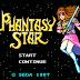 Phantasy Star - o melhor RPG 8 bits já lançado...