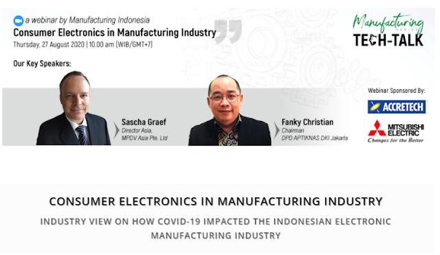 Dokumentasi TECH-TALK WEEK @MANUFACTURING INDONESIA 27 Ags 2020
