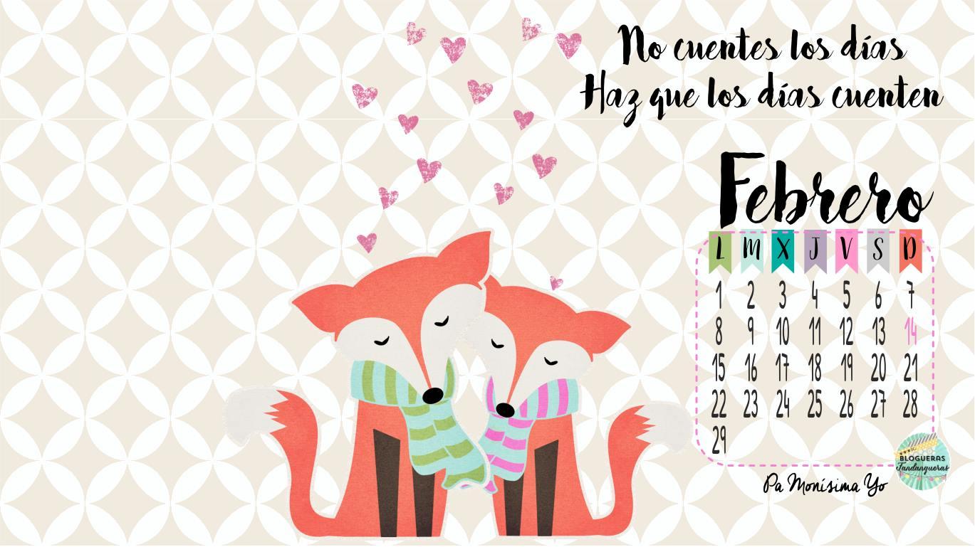 Solo Fondos De Pantalla San Valentin: Fondos De Pantalla Y Calendarios: Febrero 2016