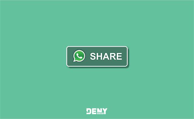 Cara Memasang Tombol Share Whatsapp di Blogger