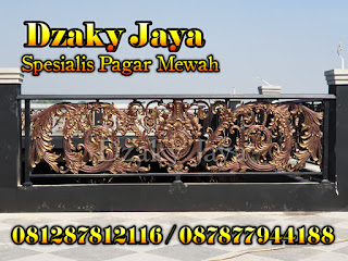 Model Railing Balkon Besi Tempa Bandung