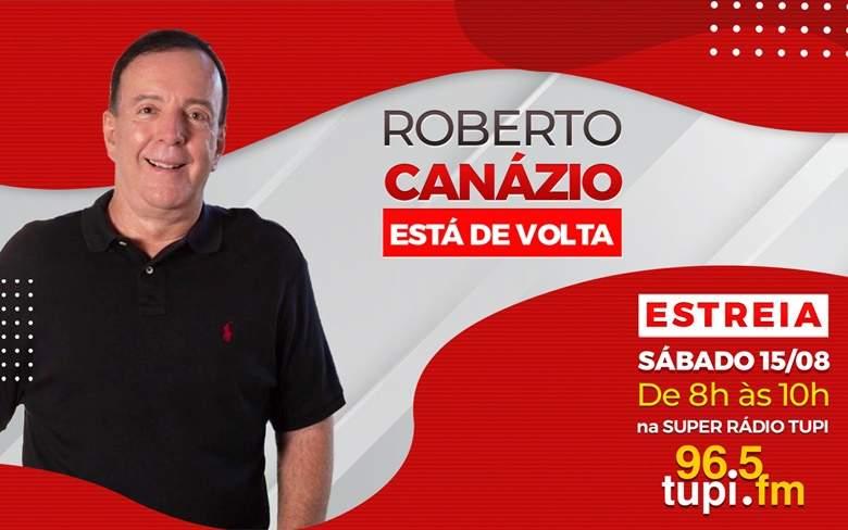 Roberto Canazio é o novo contratado da Super Rádio Tupi