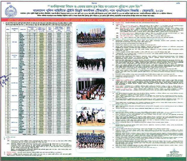 Bangladesh Police Constable Exam Result 2018 police.gov.bd