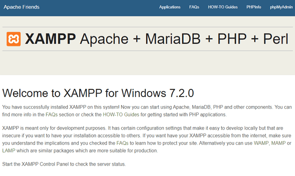 Apache PHP MySQL Perl