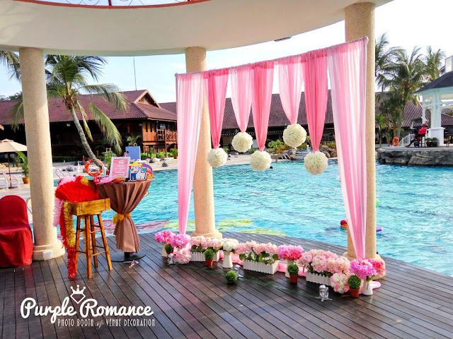 ROM backdrop, photo booth, kuala lumpur, selangor, melaka, pahang, bentong, pink, perak, ipoh, bukit kiara equestrian & country resort, bukit jalil, decorator, vendor, supplier, planner, wedding, save the date, props, flowers ball, elegant, simple, modern, by the pool, outdoor