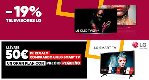 Top 5 ofertas en TVs LG de Fnac.es