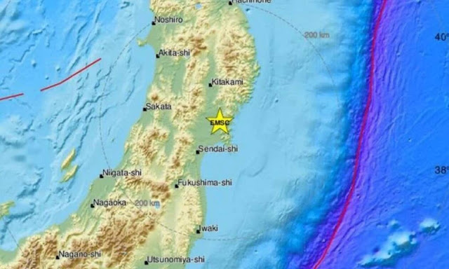 Σεισμός στην Ιαπωνία 7,2 Ρίχτερ  - Προειδοποίηση για τσουνάμι (βίντεο)