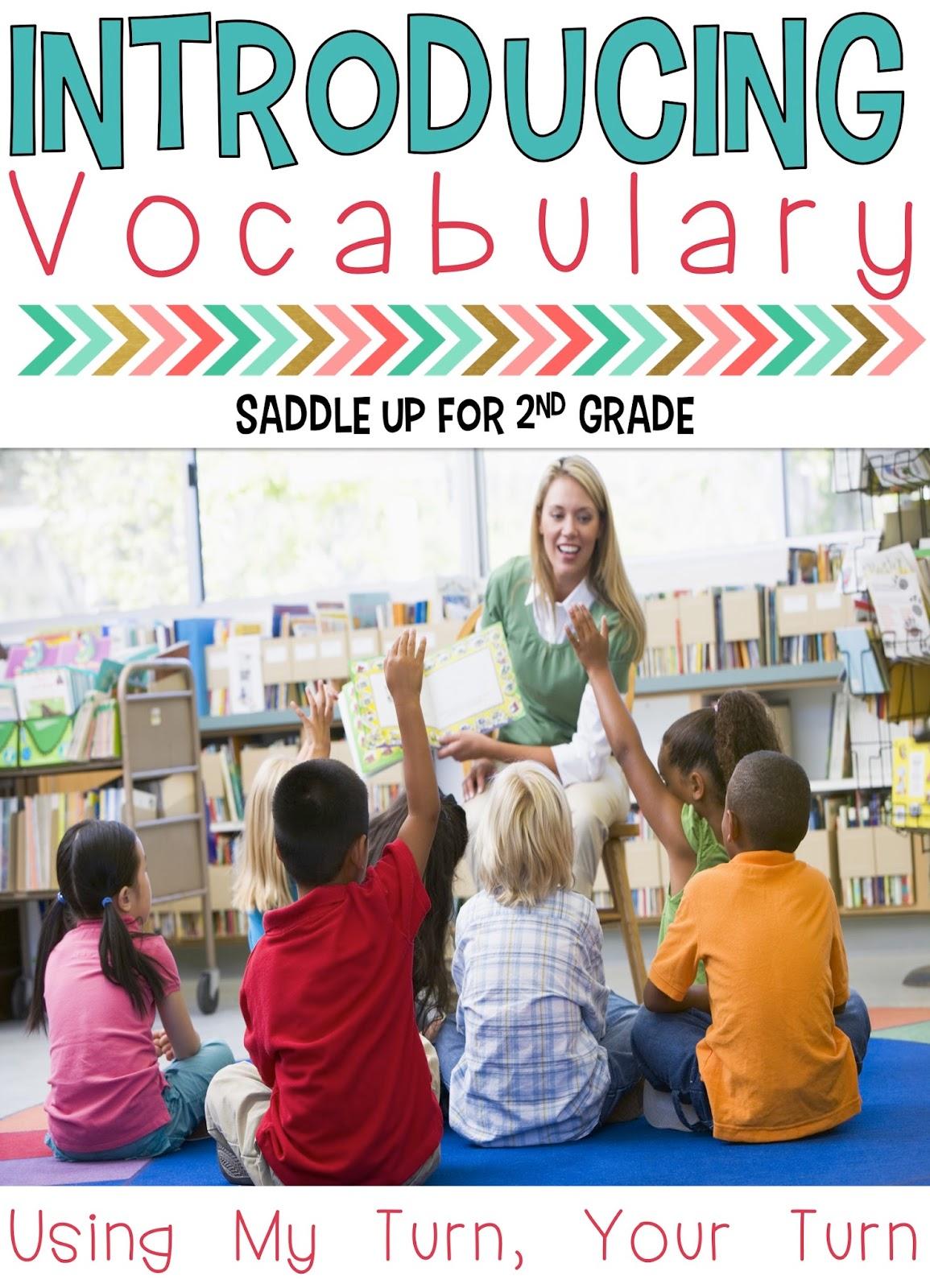Introducing Vocabulary