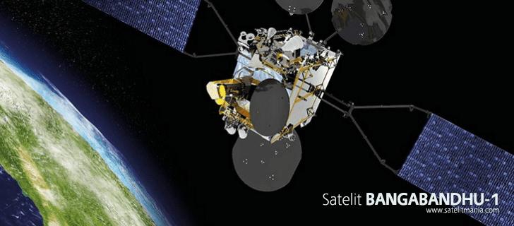 Daftar Lengkap Frekuensi Satelit Bangabandhu-1
