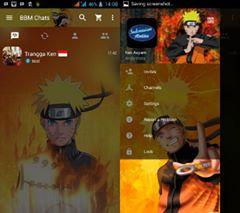 Screenshot BBM MOD Naruto