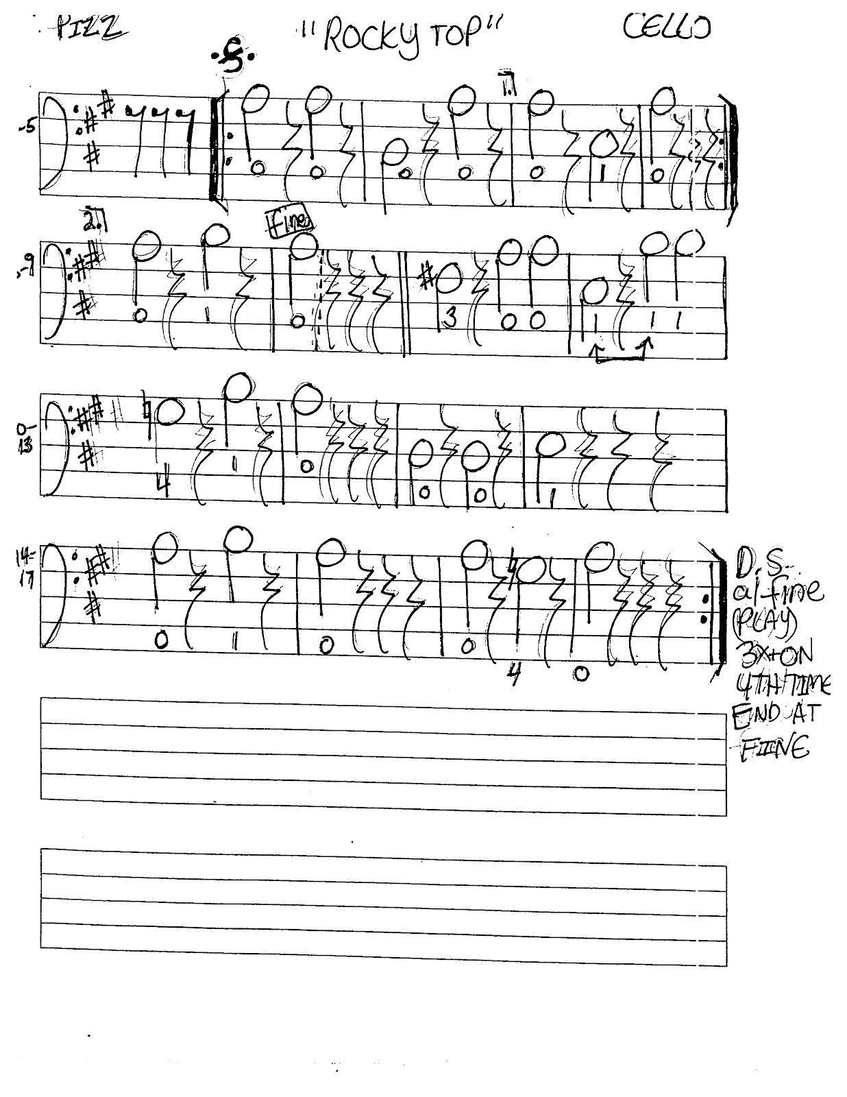 Miss Jacobson's Music: ROCKY TOP MUSIC WORKSHEETS