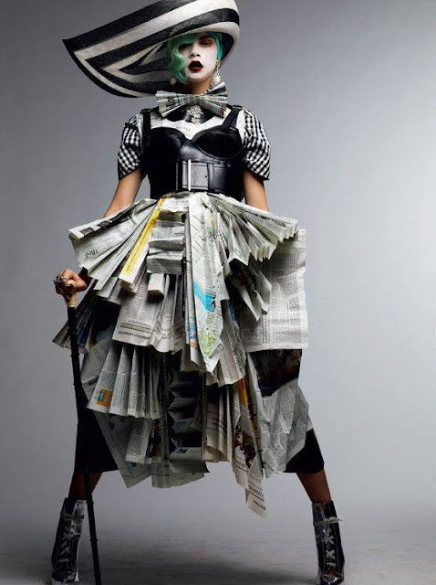 New trends: Paper Couture
