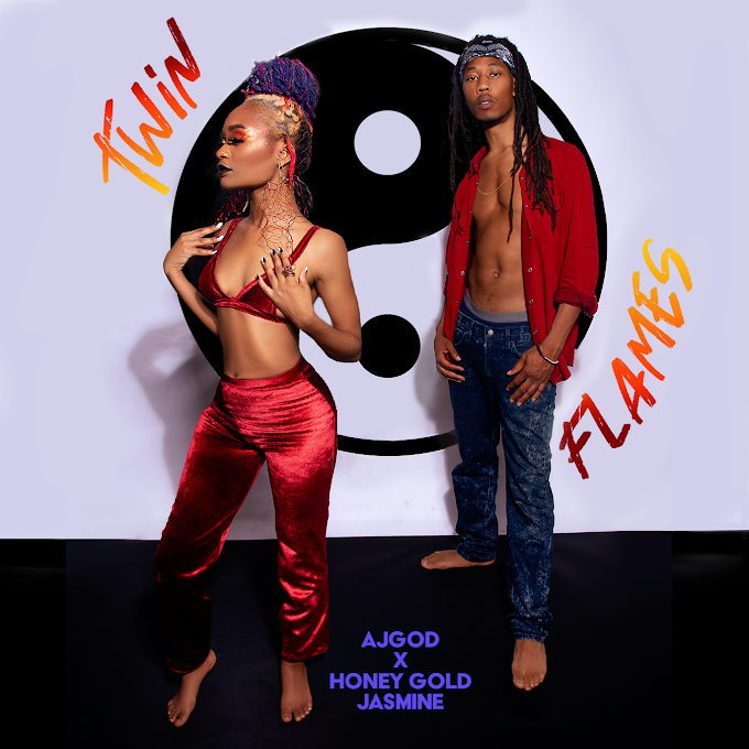 AjGOD's Classic Rap Beats Meet Honey Gold Jasmine Soulful Energy on EP, 'Twin Flames'