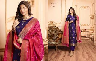 Lt Nitya vol 144 Silk Jacquard  Salwar Kameez Collection