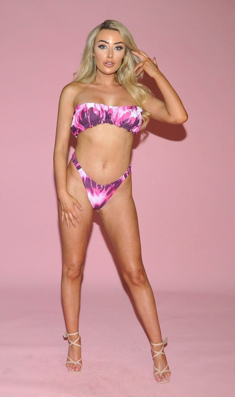 Chloe Crowhurst Featured in Bikinis at a Photoshoot in Manchester 17 Apr-2021