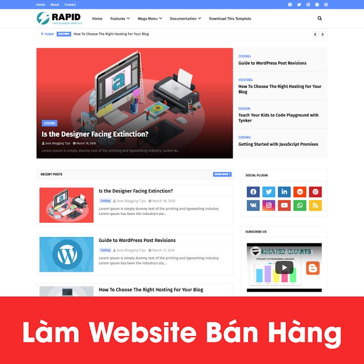 [A121] Đơn vị thiết kế website nhà hàng chuyên nghiệp, giao diện đẹp