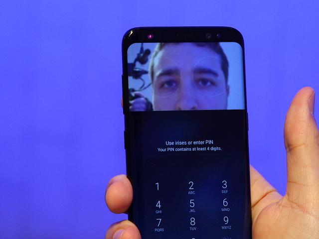 God! Iris Galaxy S8 Scanner Can be burglarized