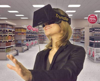 Amazon Trundle virtual reality shopping googles