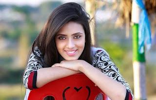 Bidya Sinha Saha Mim Cute Smile