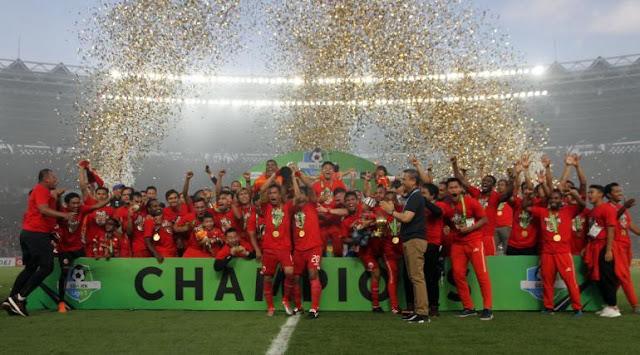Juara Liga 1 2018, Persija Jakarta Dapat Ucapan dari Kembarannya di Italia