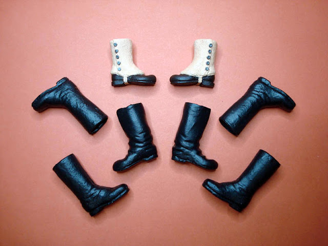 "Madelman calzado diorama ""El Alamo"""