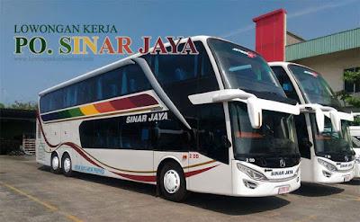 Lowongan PO Sinar Jaya