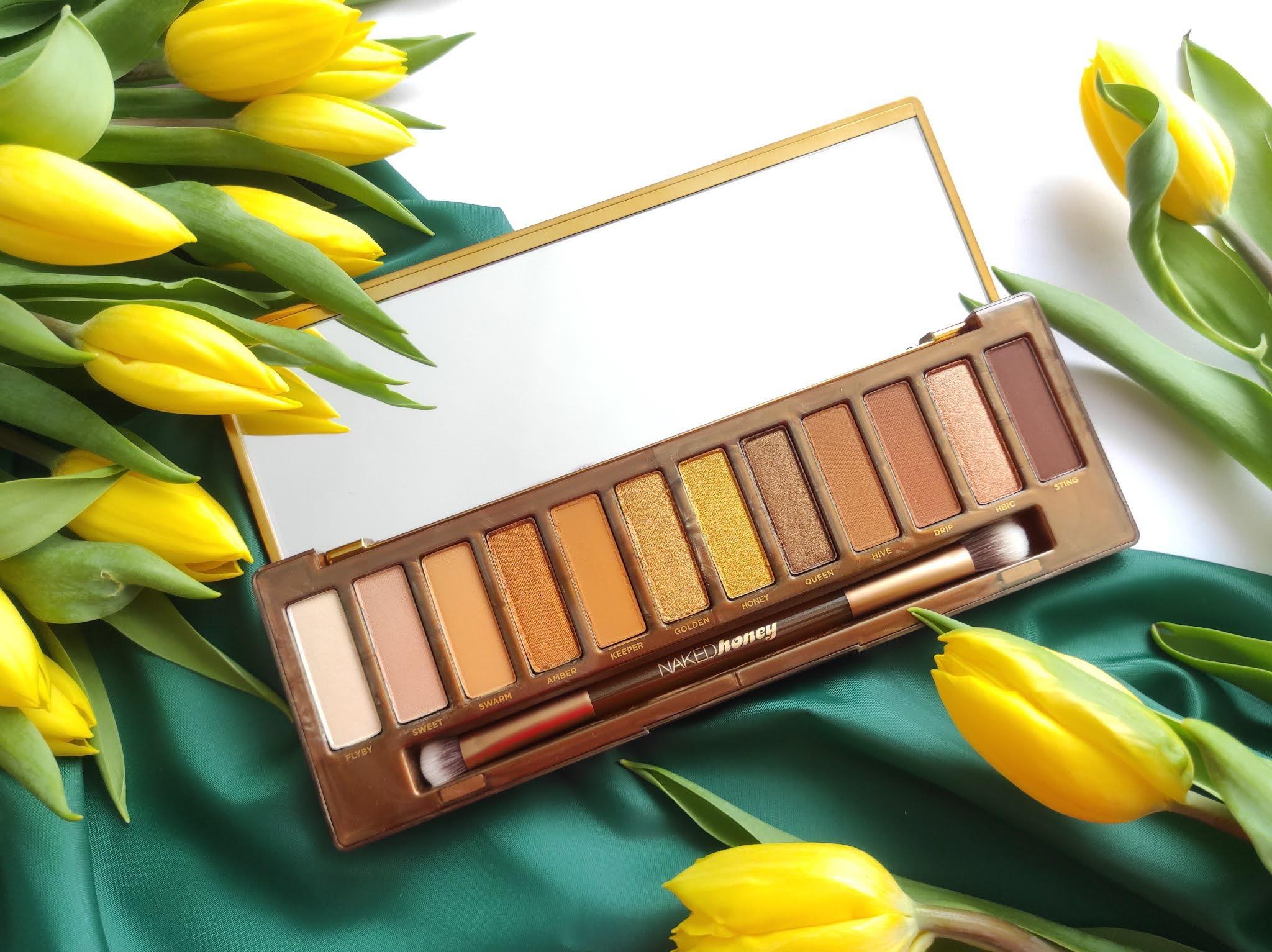 Kolory palety Naked honey