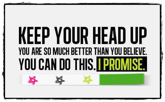Keep Your Head Up Quote Delectable Keep Your Head Up Quotes Daily
