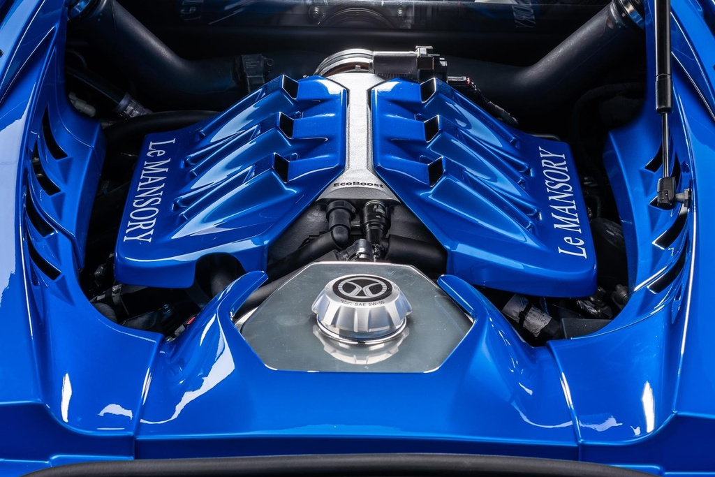 Ford GT với gói độ Mansory 710 mã lực, chỉ có 3 chiếc trên thế giới